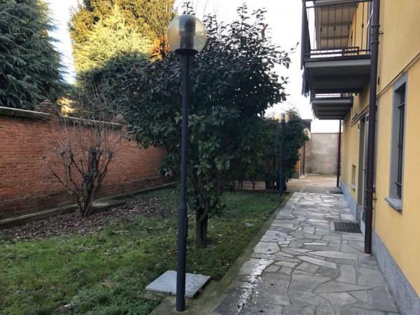 Appartamento in vendita a Candiolo, Centralissima, Arredato, con giardino, 73 mq - Foto 4