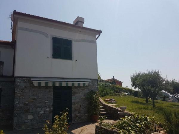 Villa in vendita a Chiavari, S. Andrea Di Rovereto, Con giardino, 180 mq - Foto 3