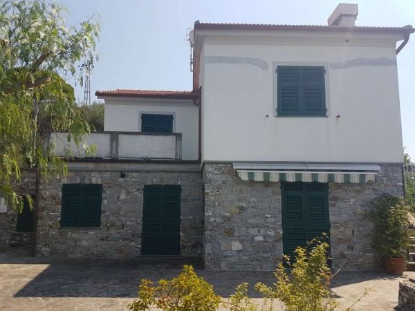Villa in vendita a Chiavari, S. Andrea Di Rovereto, Con giardino, 180 mq - Foto 5