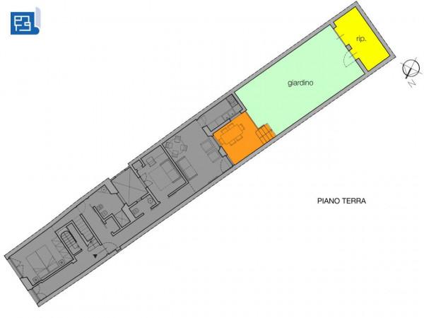 Appartamento in affitto a Firenze, Arredato, con giardino, 92 mq - Foto 3