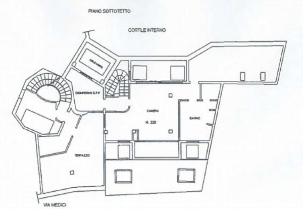 Appartamento in affitto a Milano, Cappuccio, Con giardino, 300 mq - Foto 6