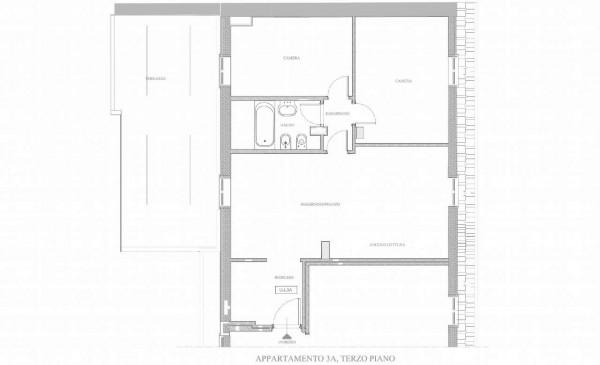 Appartamento in affitto a Milano, Navigli, Arredato, 82 mq - Foto 2