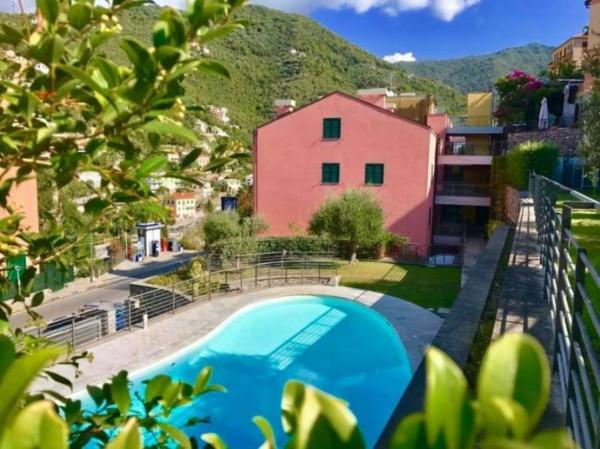 Appartamento in vendita a Zoagli, Centro Città, Con giardino, 68 mq