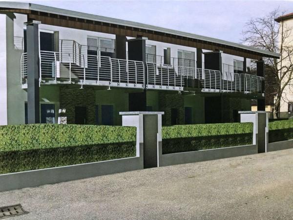 Villa in vendita a Besozzo, Centrale, Con giardino, 120 mq