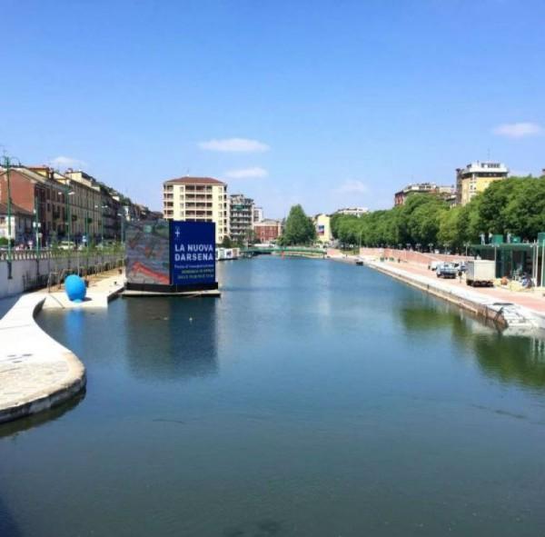 Appartamento in affitto a Milano, Porta Genova, Darsena, Arredato, 90 mq - Foto 6