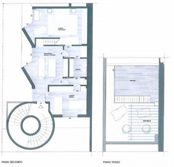 Appartamento in vendita a Milano, Lambrate, Con giardino, 110 mq - Foto 3