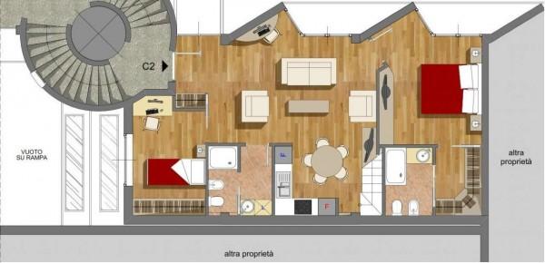 Appartamento in vendita a Milano, Lambrate, Con giardino, 110 mq - Foto 5