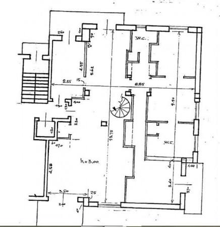Appartamento in vendita a Monza, Parco, Con giardino, 275 mq - Foto 4