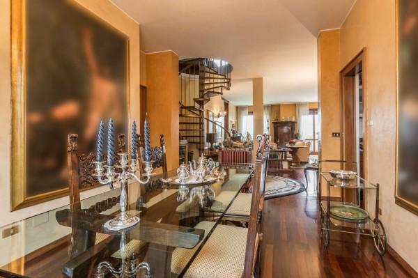 Appartamento in vendita a Monza, Parco, Con giardino, 275 mq - Foto 14