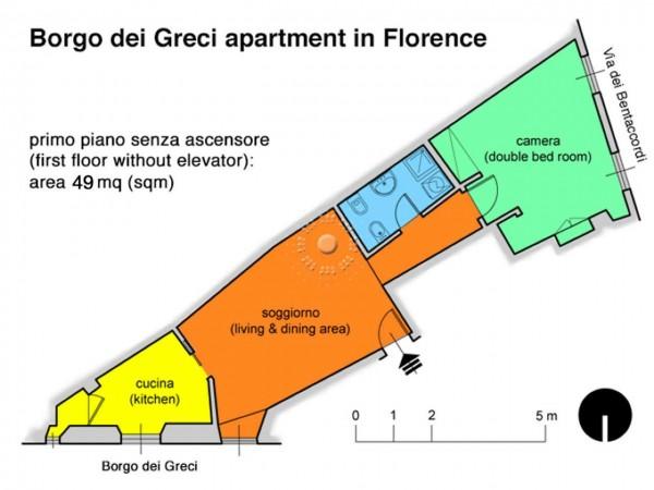 Appartamento in affitto a Firenze, Arredato, 62 mq - Foto 2