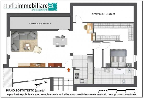 Appartamento in vendita a Genova, Apparizione, Arredato, con giardino, 65 mq - Foto 3