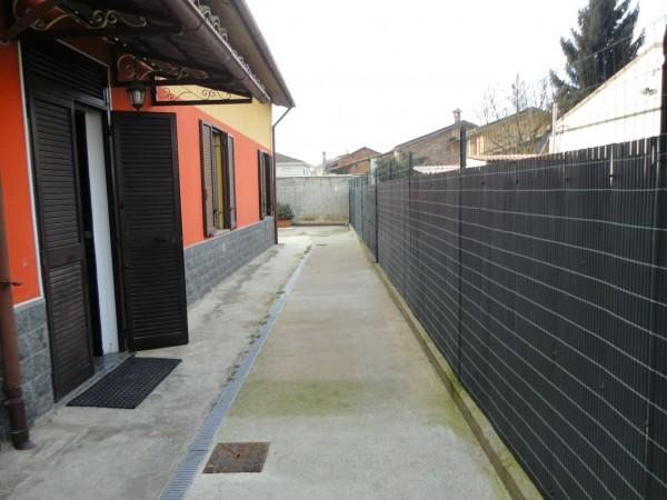 Casa indipendente in vendita a Alessandria, Mandrogne, Con giardino, 90 mq