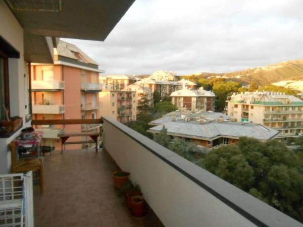 Appartamento in vendita a Genova, Adiacenze Via Padre Semeria, Con giardino, 125 mq