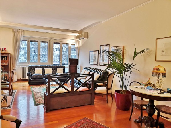 Appartamento in vendita a Milano, Sempione, Con giardino, 168 mq
