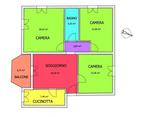 Appartamento in vendita a Imperia, 105 mq