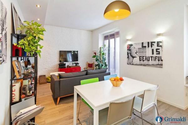 Appartamento in vendita a Milano, Arredato, con giardino, 75 mq