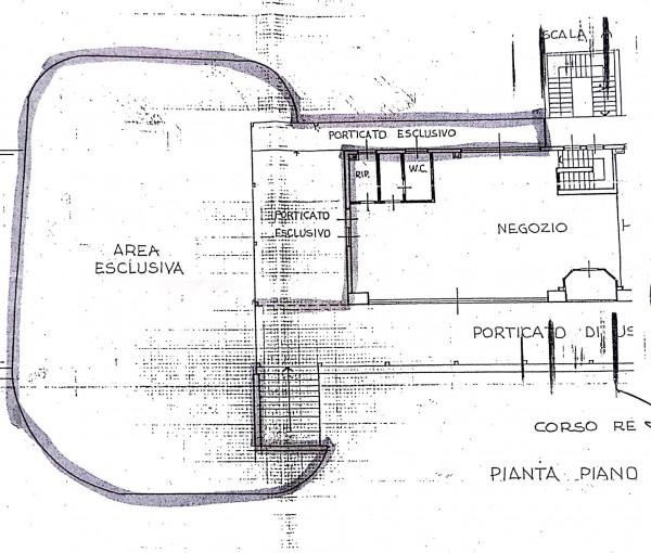 Negozio in affitto a Somma Lombardo, Con giardino, 120 mq - Foto 3
