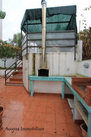 Villa in affitto a Taranto, Lama, Arredato, con giardino, 110 mq - Foto 4