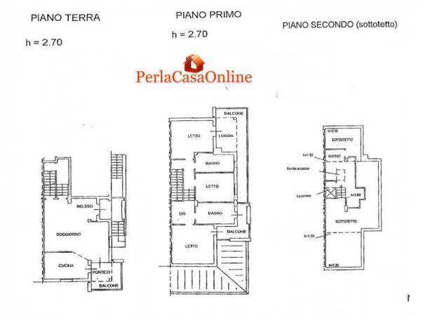 Appartamento in vendita a Forlì, Buscherini, Con giardino, 380 mq - Foto 3
