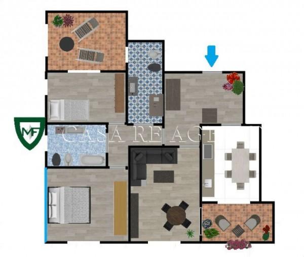 Appartamento in vendita a Varese, Ippodromo, Con giardino, 114 mq - Foto 2