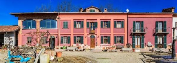 Rustico/Casale in vendita a Asti, Vallarone, Con giardino, 404 mq
