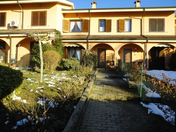 Villetta a schiera in vendita a Castelletto Monferrato, Con giardino, 150 mq