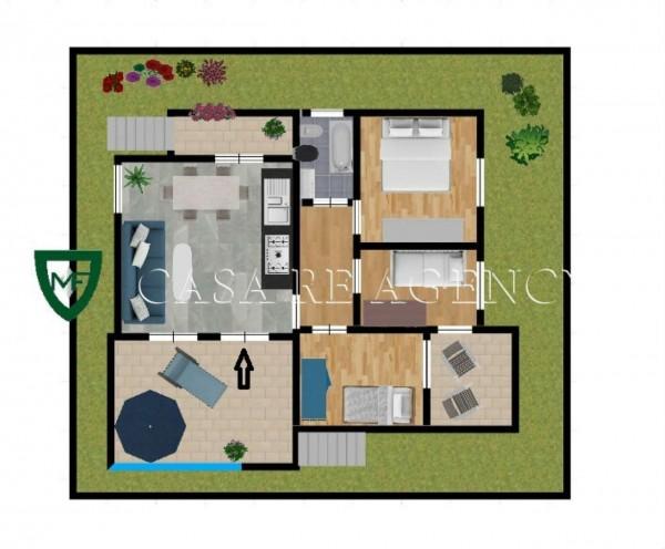 Villa in vendita a Induno Olona, Con giardino, 140 mq - Foto 2