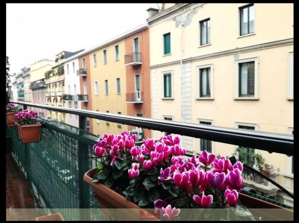 Appartamento in vendita a Milano, Moscova - Bastioni Di Porta Volta - C.so Garibaldi, Con giardino, 100 mq