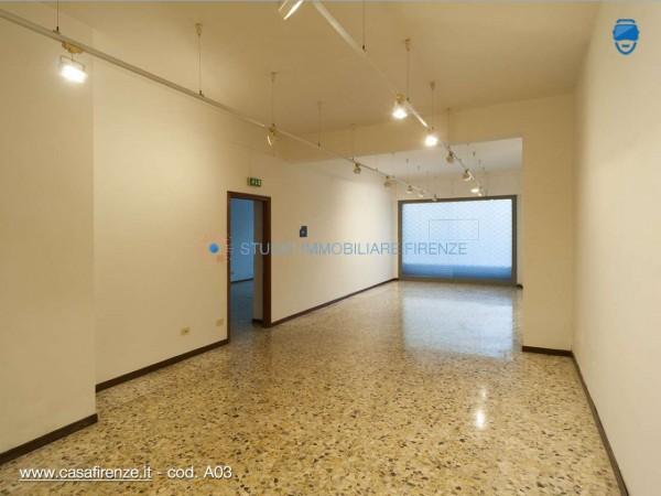 Negozio in affitto a Firenze, 107 mq - Foto 4