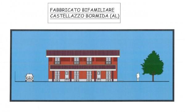 Villa in vendita a Castellazzo Bormida, Con giardino, 100 mq