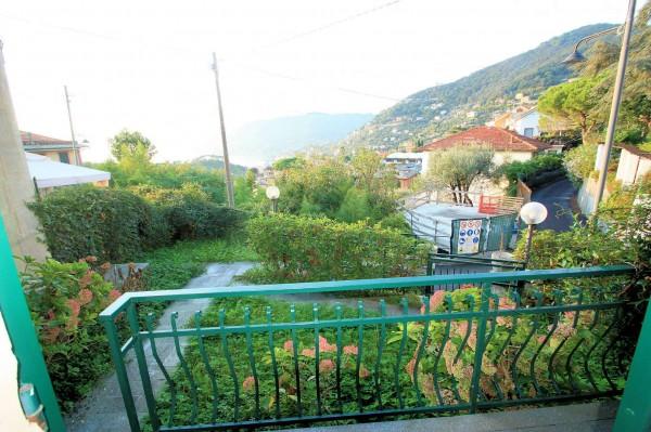 Appartamento in vendita a Camogli, Boschetto, Con giardino, 75 mq