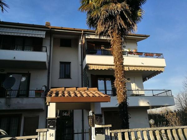 Appartamento in vendita a Cervignano d'Adda, Con giardino, 90 mq