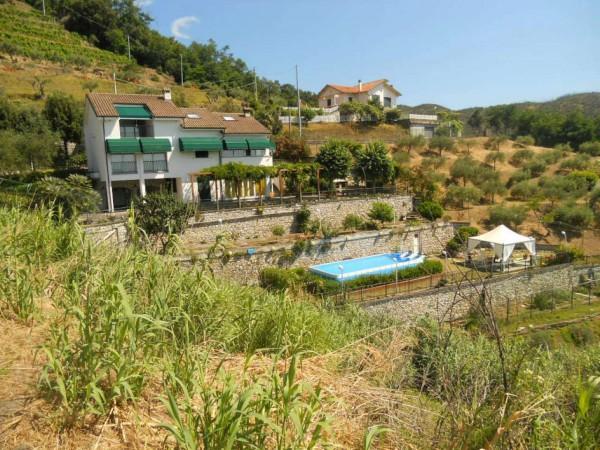 Villa in vendita a Sestri Levante, Riva Trigoso, Con giardino, 420 mq