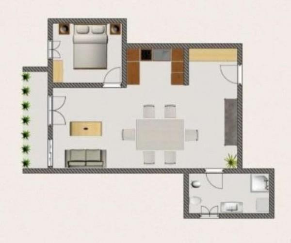 Appartamento in affitto a Roma, Serenissima, 45 mq