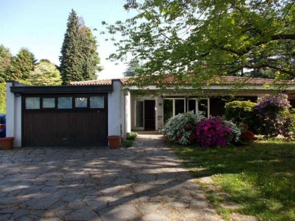 Villetta a schiera in vendita a Olgiate Comasco, Arredato, con giardino, 240 mq - Foto 46