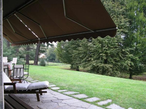 Villetta a schiera in vendita a Olgiate Comasco, Arredato, con giardino, 240 mq - Foto 4