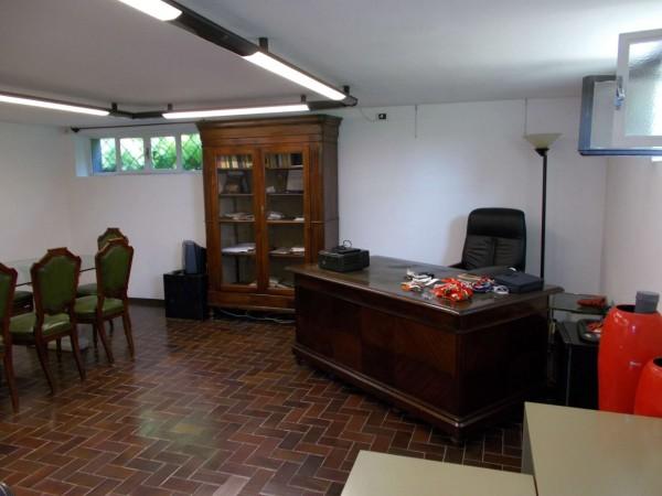 Villetta a schiera in vendita a Olgiate Comasco, Arredato, con giardino, 240 mq - Foto 12