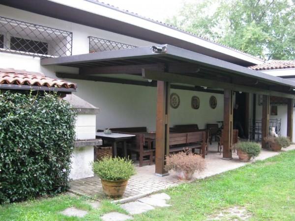 Villetta a schiera in vendita a Olgiate Comasco, Arredato, con giardino, 240 mq - Foto 6