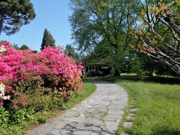 Villetta a schiera in vendita a Olgiate Comasco, Arredato, con giardino, 240 mq - Foto 45