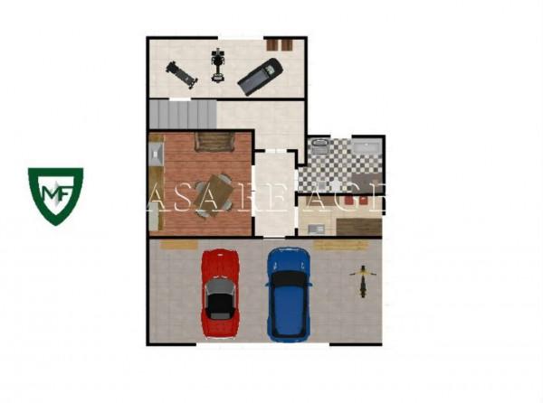 Villetta a schiera in vendita a Varese, Valle Olona, Con giardino, 200 mq - Foto 2