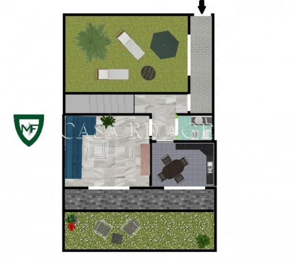 Villetta a schiera in vendita a Varese, Valle Olona, Con giardino, 200 mq - Foto 5