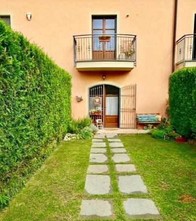 Villetta a schiera in vendita a Alessandria, Valle San Bartolomeo, Con giardino, 110 mq