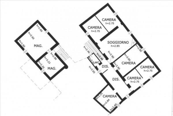 Villa in vendita a Sovicille, Con giardino, 787 mq - Foto 3