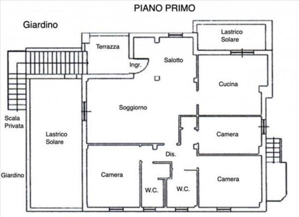 Appartamento in vendita a Siena, Con giardino, 132 mq - Foto 2