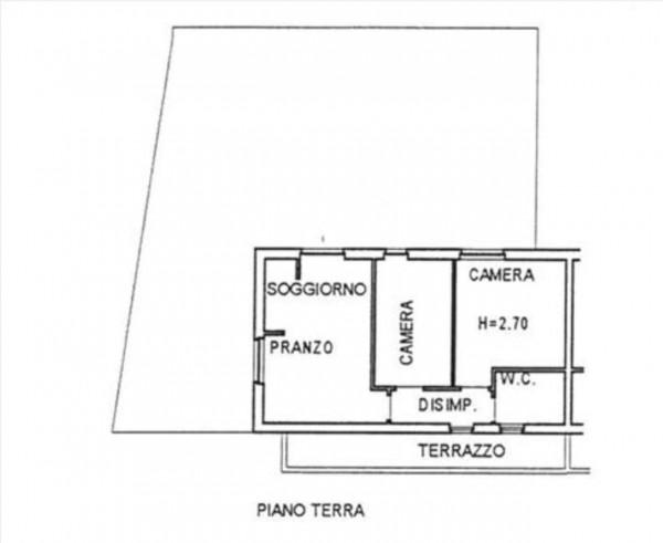Appartamento in vendita a Sovicille, Con giardino, 80 mq