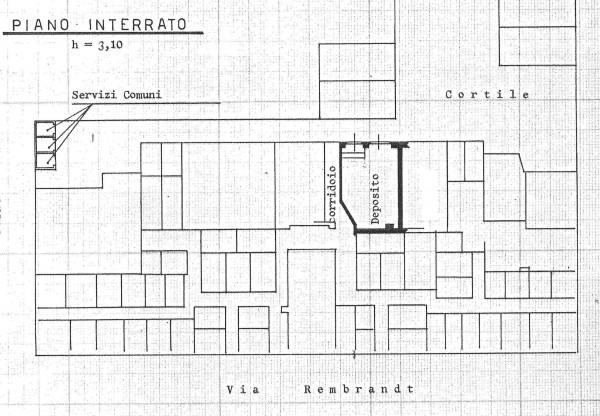 Negozio in affitto a Milano, Gambara, 150 mq - Foto 4