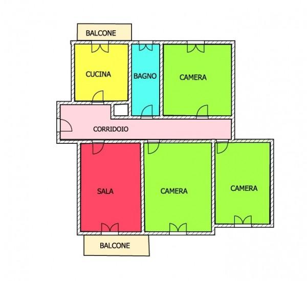 Appartamento in vendita a Imperia, 109 mq
