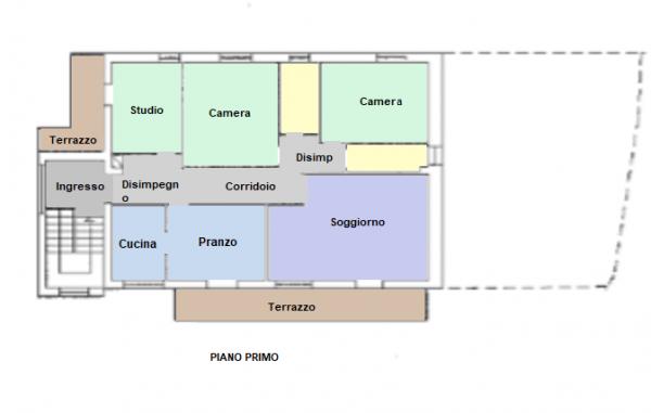Casa indipendente in affitto a Trevi, Pigge, Con giardino, 180 mq - Foto 16