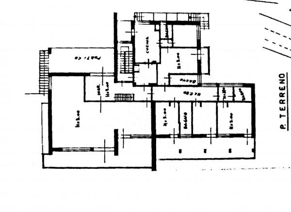 Villa in vendita a Buguggiate, Caslera, Con giardino, 482 mq - Foto 4