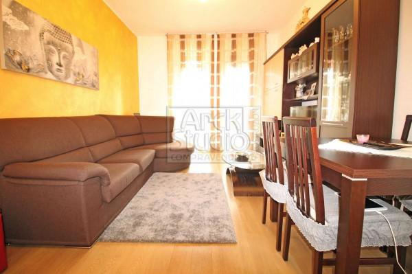 Appartamento in vendita a Cassano d'Adda, Mercato, Con giardino, 90 mq - Foto 3